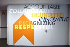 We take our core values and our company culture to heart