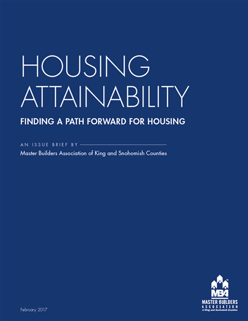Housing Attainability Issue Brief, February 2017