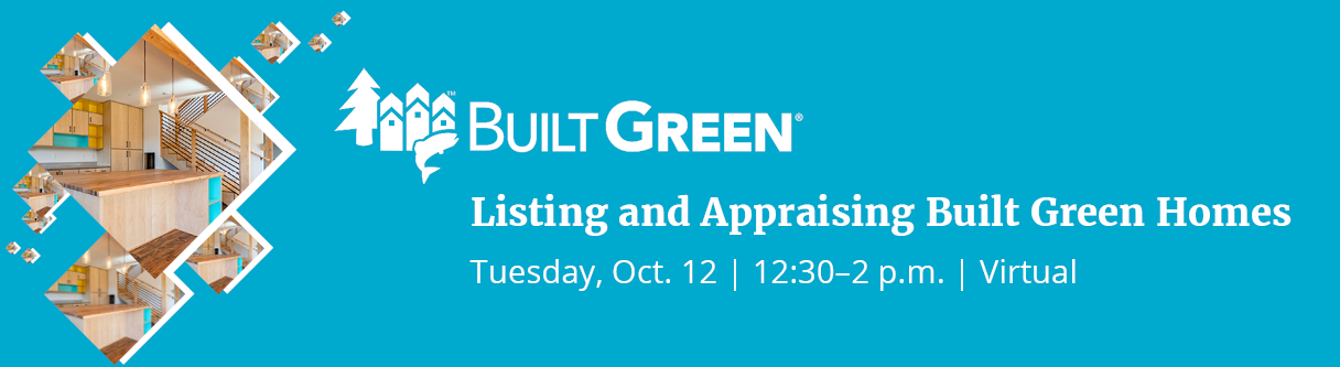 Built Green Listing and Appraising