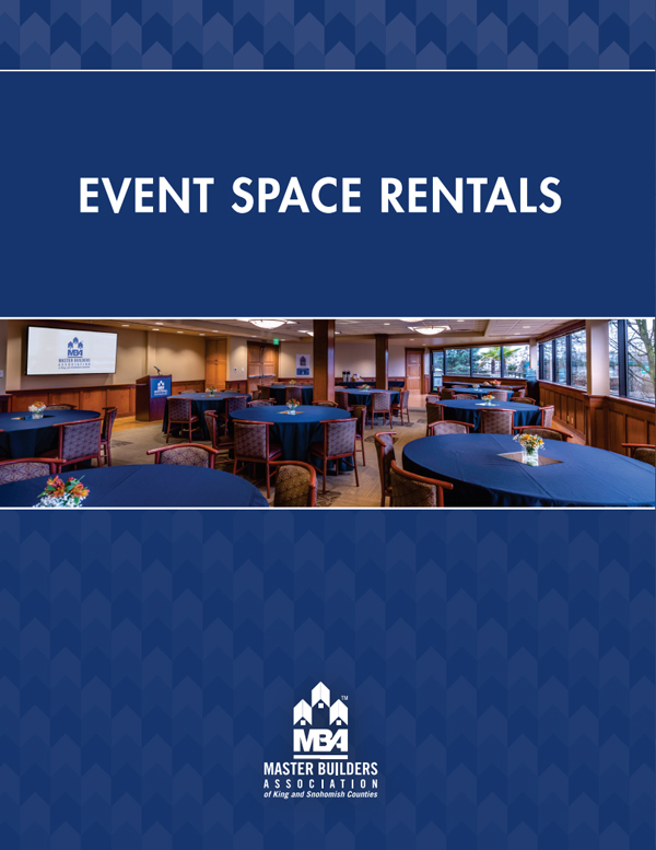 Event Space Rentals Brochure cover