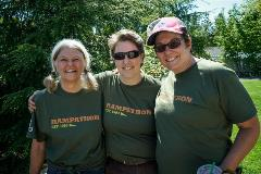 Professional Women in Building Rampathon volunteer team