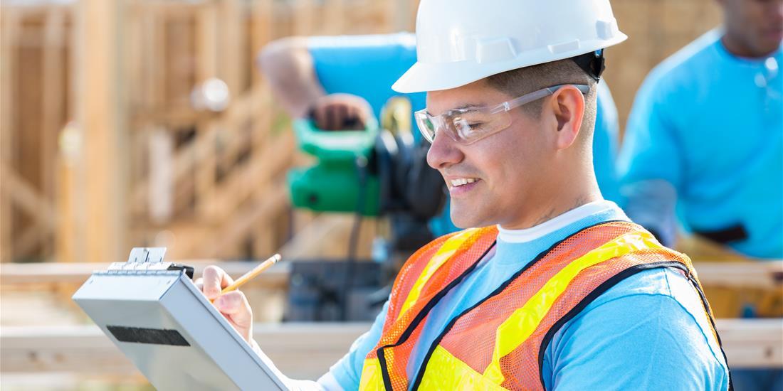 Latino Construction Worker