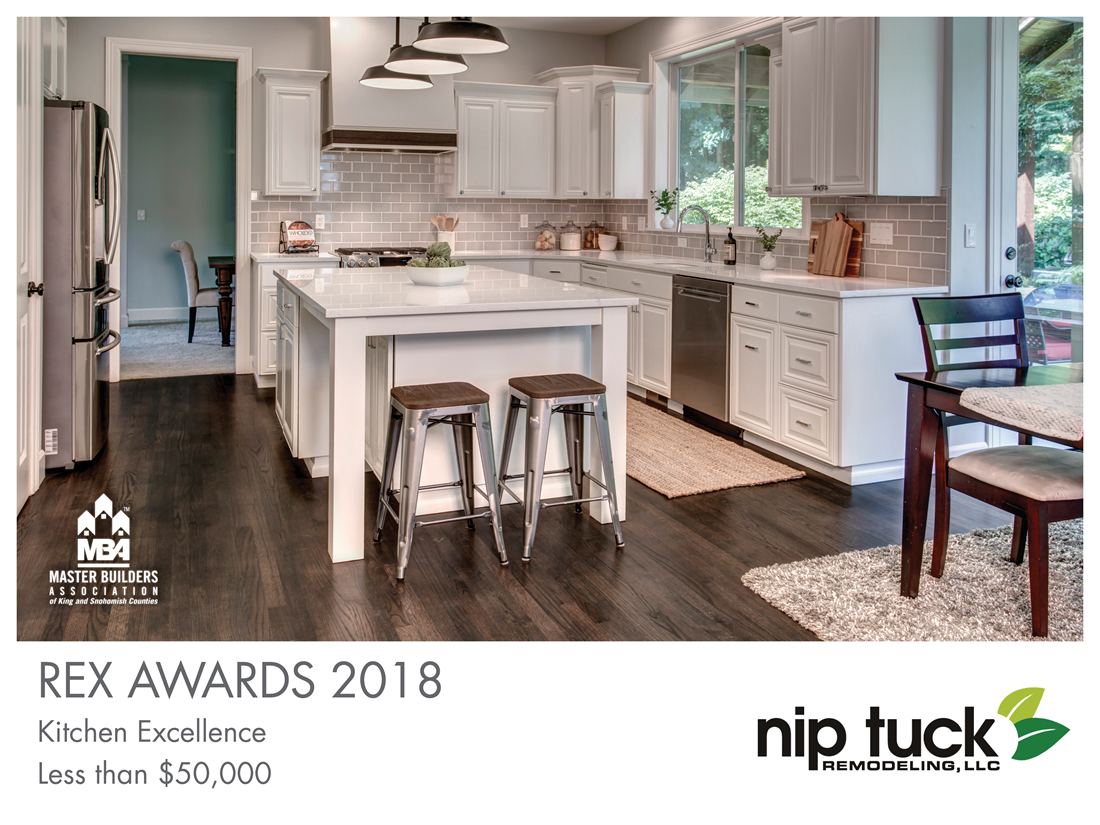 REX Award Winner: Kitchen Excellence—Less Than $50,000: Nip Tuck Remodeling