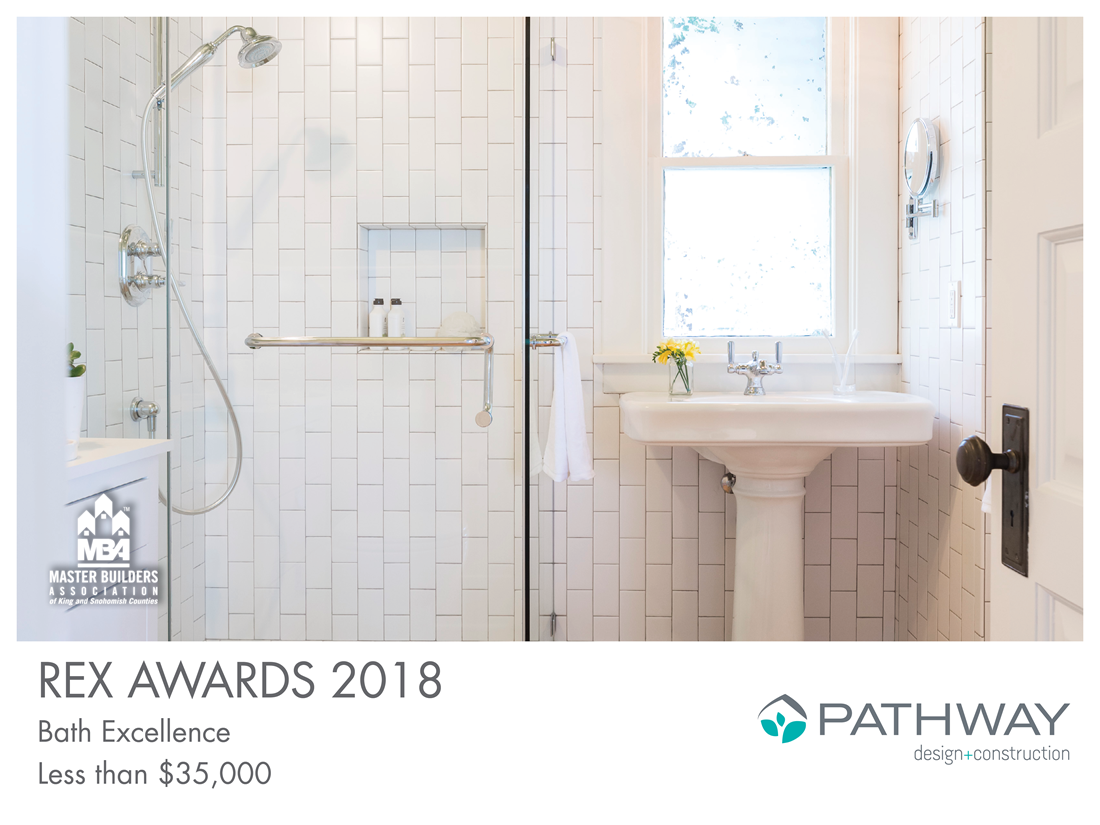 REX Award Winner: Bath Excellence—Less Than $35,000: Pathway Design & Construction