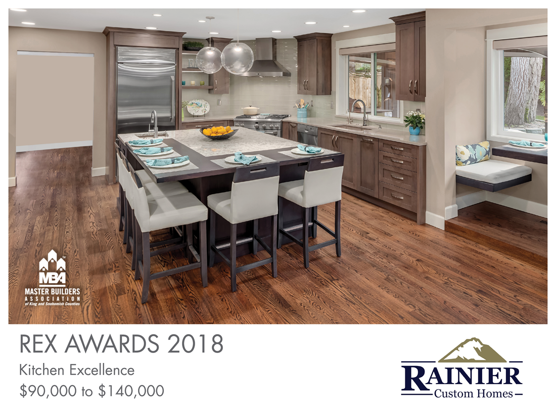 REX Award Winner: Kitchen Excellence—$90,000–$140,000: Rainier Custom Homes