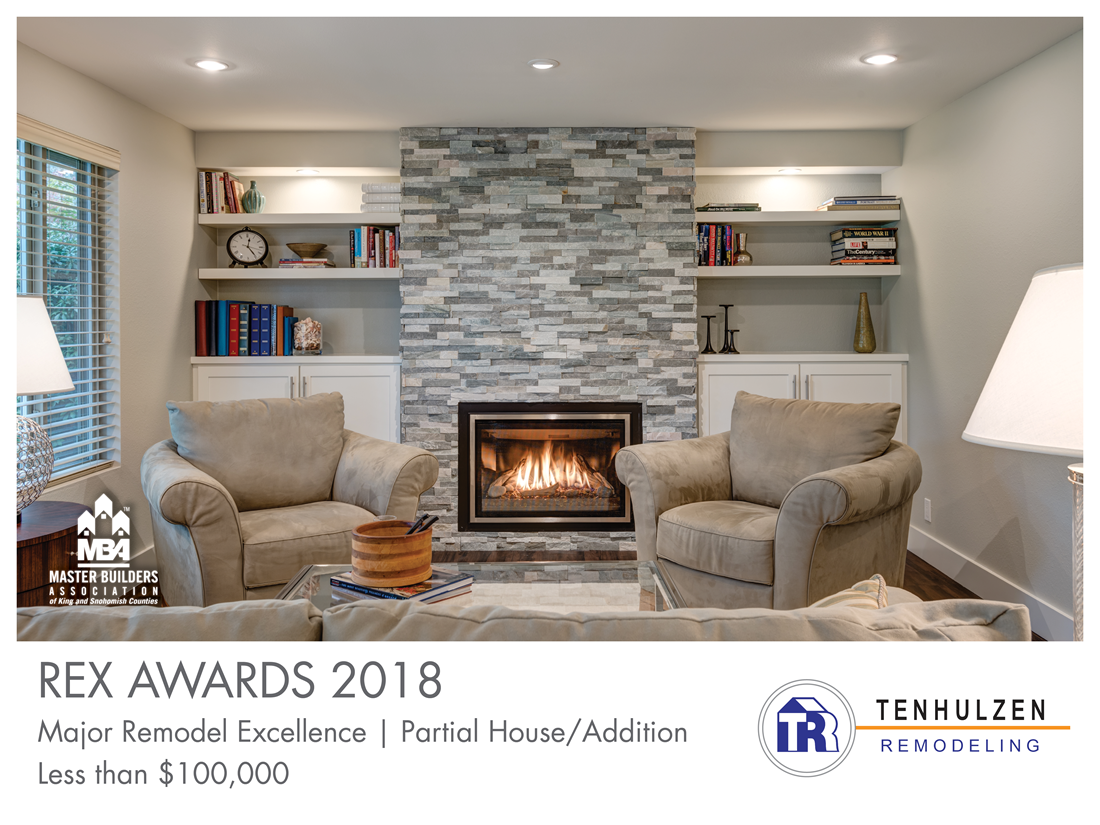 REX Award Winner: Major Remodel Excellence: Partial House/Addition—Less Than $100,000: Tenhulzen Residential LLC