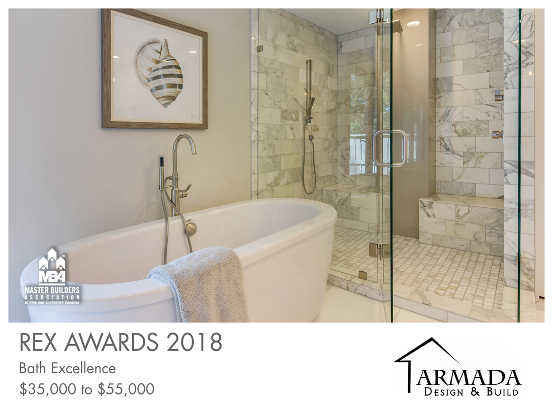 REX Award Winner: Bath Excellence—$35,000–$55,000: Armada Design & Build