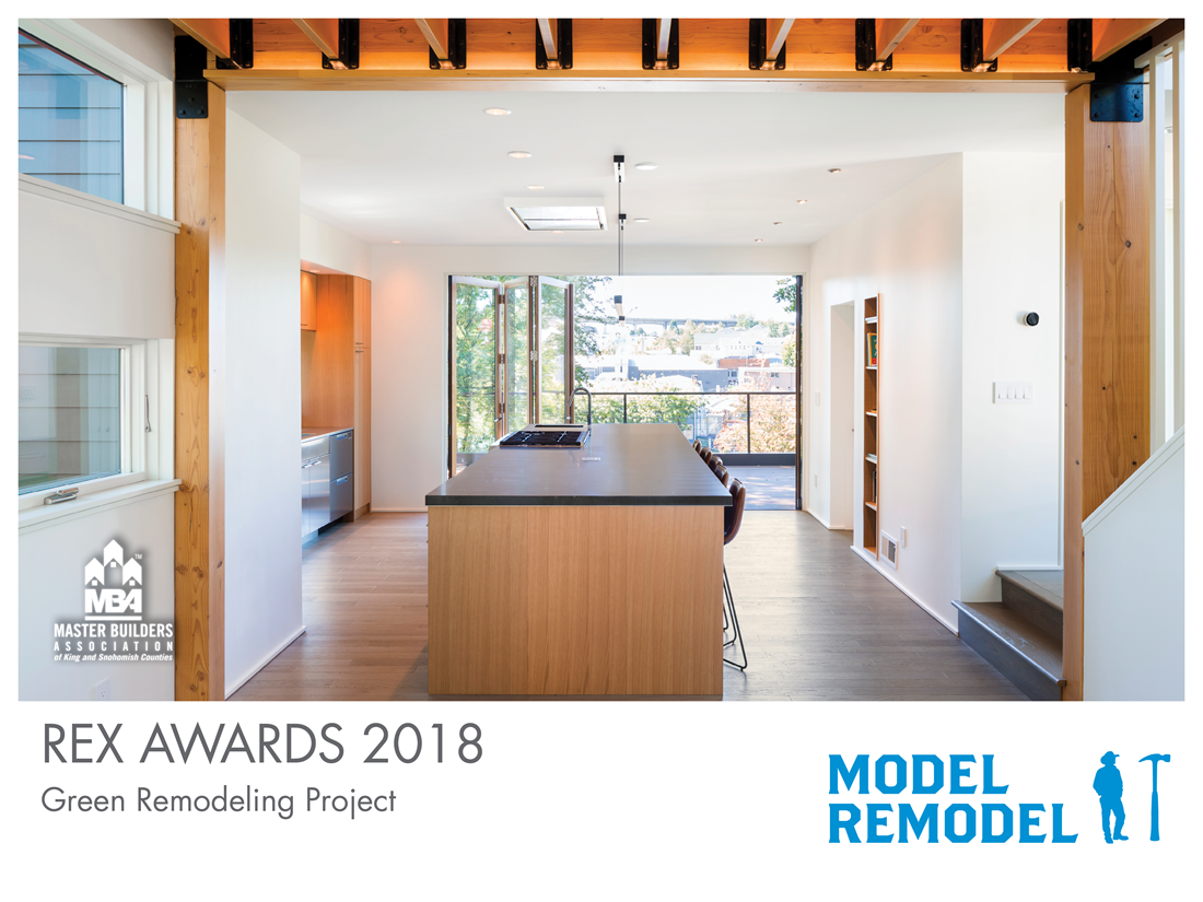 REX Award Winner: Green Remodeling Excellence: Model Remodel