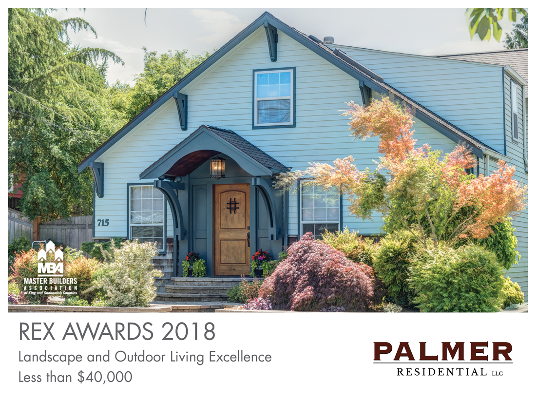 REX Award Winner: Landscape and Outdoor Living Excellence—Less Than $40,000: Palmer Residential LLC