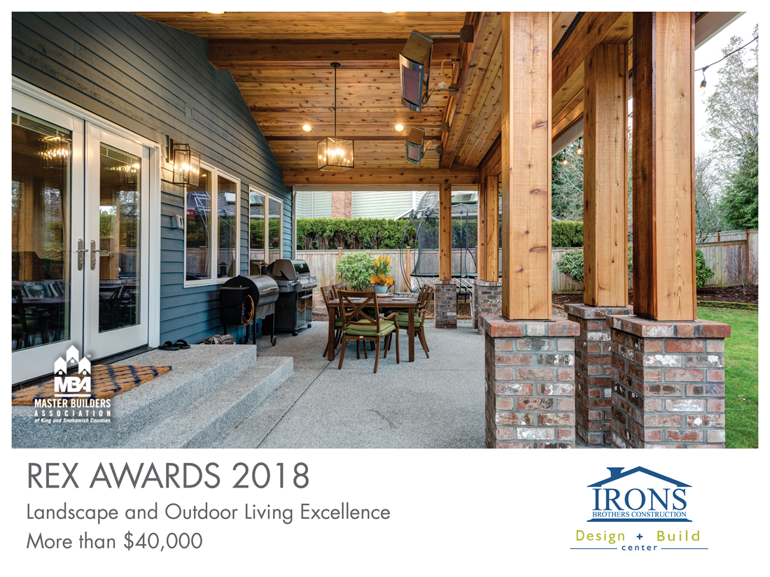 REX Award Winner: Landscape and Outdoor Living Excellence—More Than $40,000: Irons Brothers Construction Inc.
