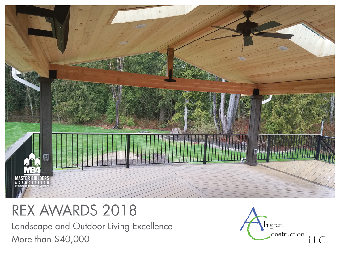 REX Award Winner: Landscape and Outdoor Living Excellence—More Than $40,000: Almgren Construction