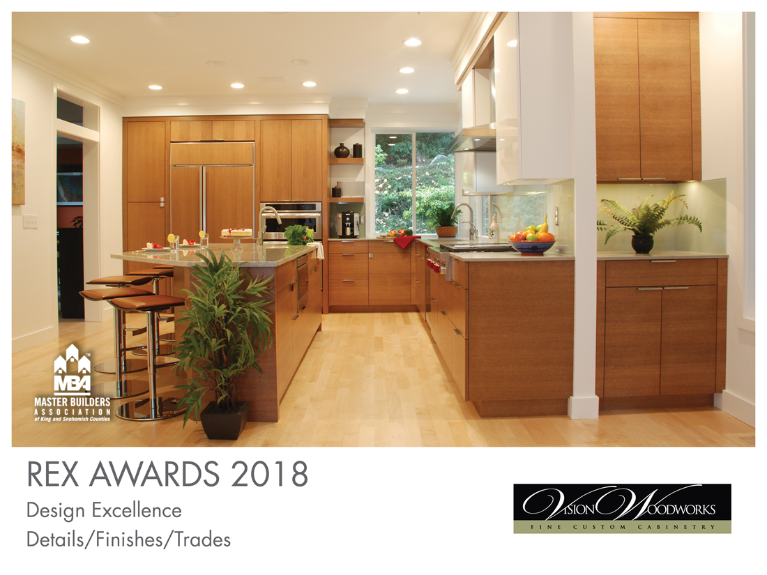 REX Award Winner: Design Excellence—Details/Finishes/Trades: Vision Woodworks Inc.