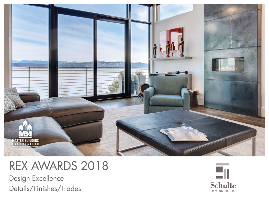 REX Award Winner: Design Excellence—Details/Finishes/Trades: Schulte Design Build