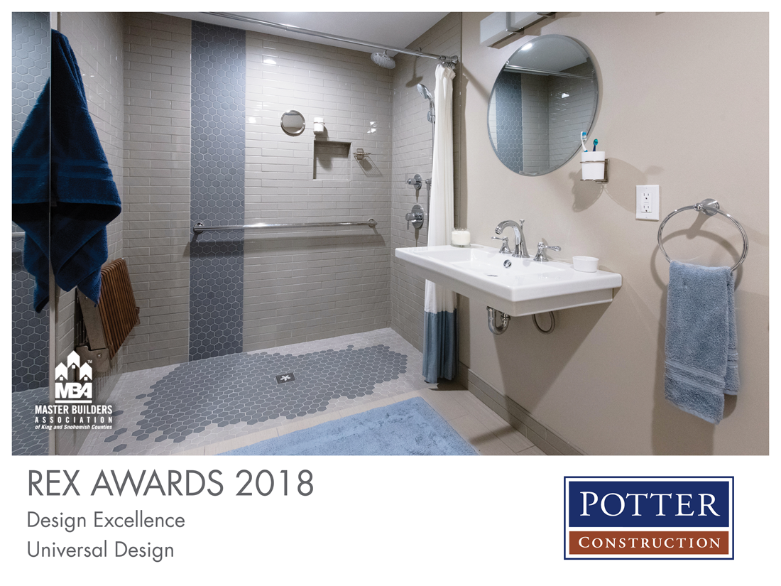 REX Award Winner: Design Excellence—Universal Design: Potter Construction