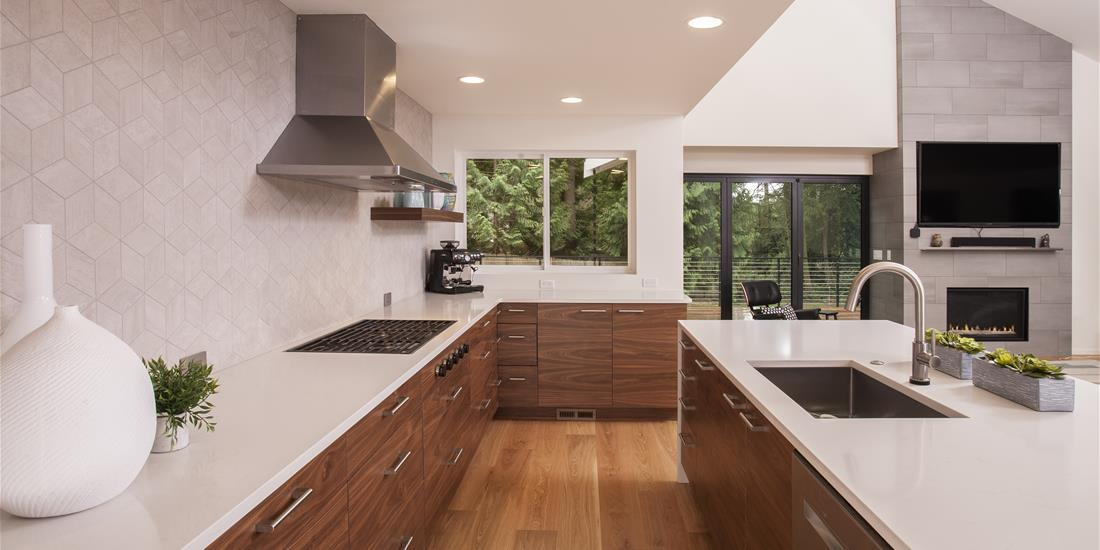 REX Award Winner: Kitchen Excellence—More Than $140,000: Sockeye Homes