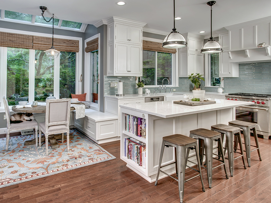 REX Award Winner, Kitchen Excellence—$100,000–$150,000, 1st Place, Nip Tuck Remodeling, photo credit: John G. Wilbanks Photography