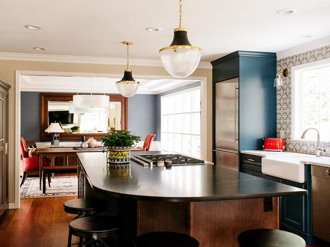 REX Award Winner, Kitchen Excellence—$50,000–$100,000, 2nd Place, Nip Tuck Remodeling, Virginia Roberts Photography