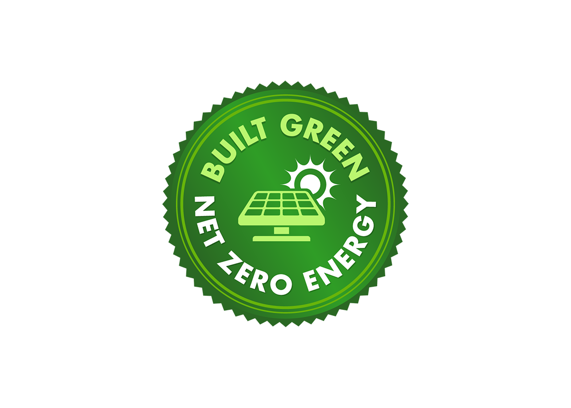 New Built Green Net Zero Energy Label