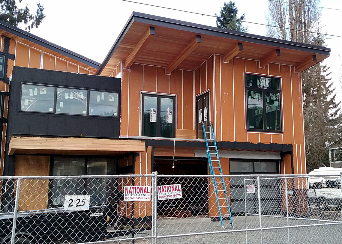 Karl Pauly's Issaquah Built Green 5-Star SIPs under construction