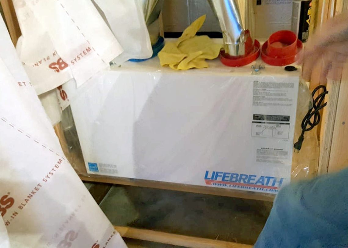 David Gray Construction 4 Star Seattle Lifebreath Heat Recovery Ventilation