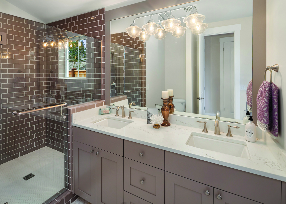 Buchan Homes Juanita Farmhouse Cottages bathroom