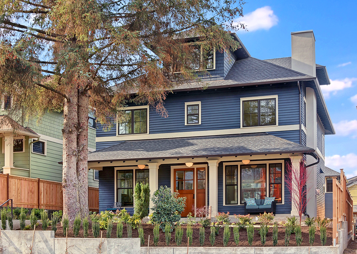 C4Digs Construction Queen Anne Single Family Built Green 4-Star exterior
