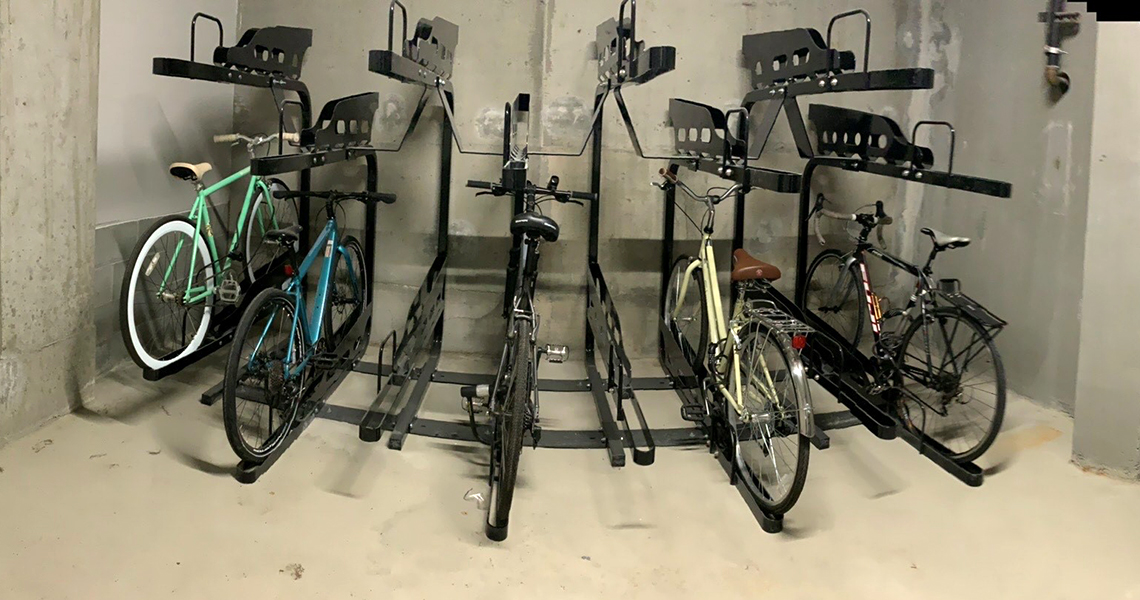 Stream Dexios Built Green 4-Star SLU apartment bike room