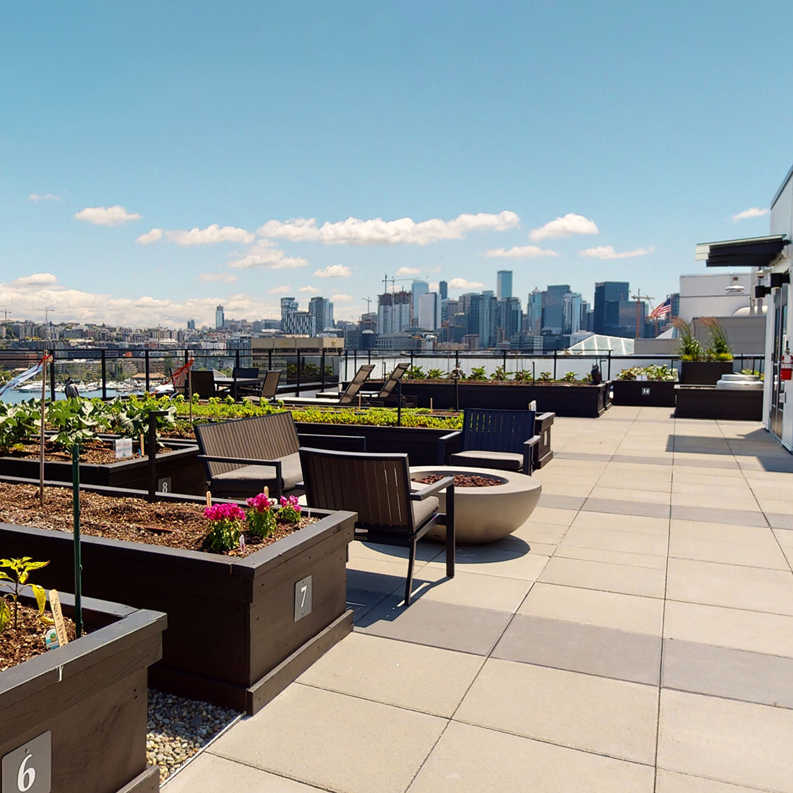 Stream Dexios Built Green 4-Star SLU apartment roof garden