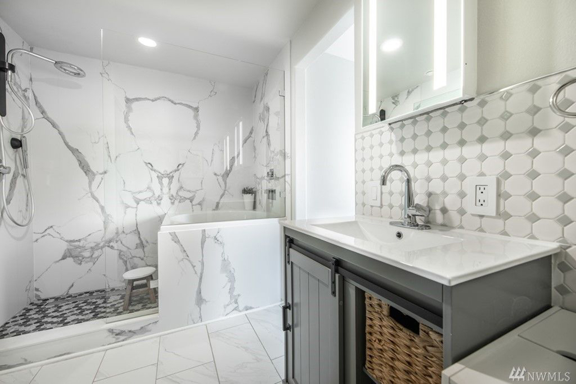 McGraw Built Green 4-Star Seattle condo remodel bathroom