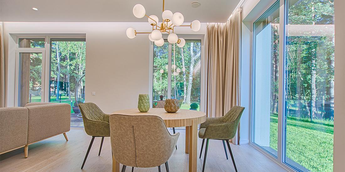 Dining room In Form Design