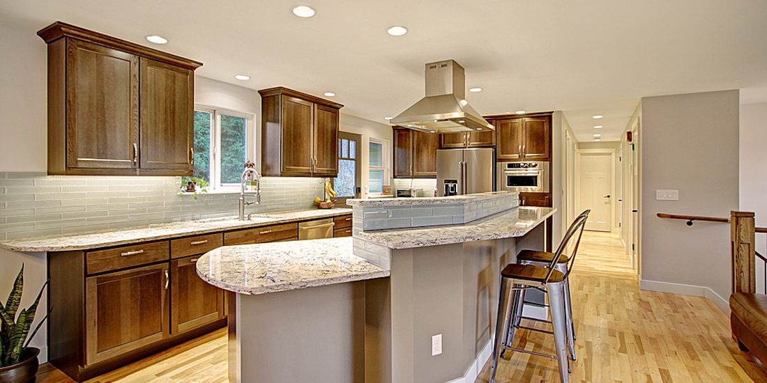 Home Run Solutions remodeled open kitchen