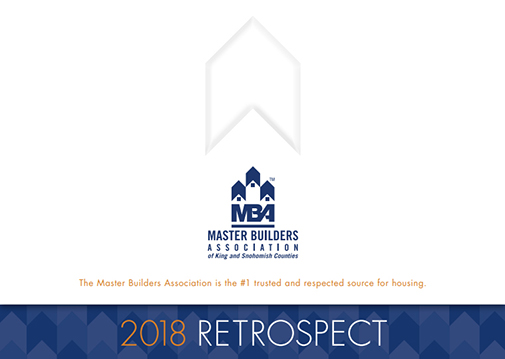 2018 Master Builders Association of King and Snohomish Counties Annual Report