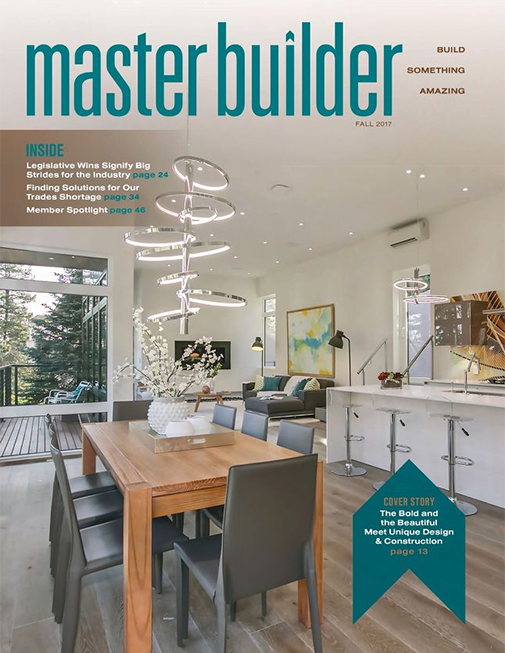 Master Builder Magazine, Fall 2017