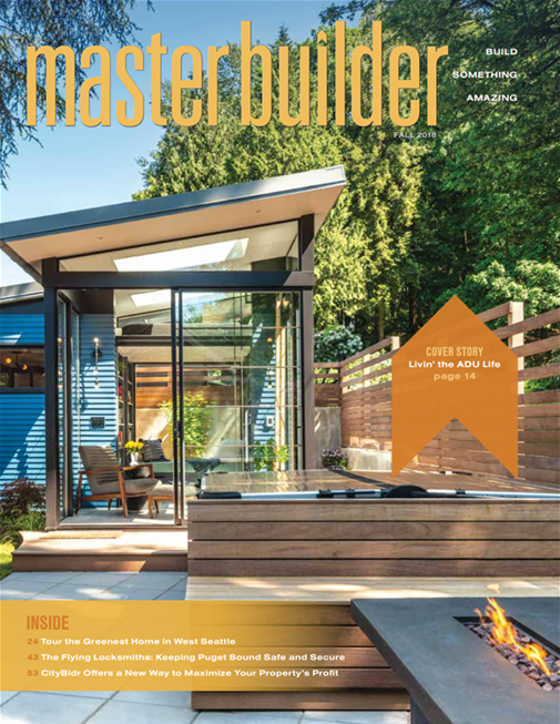 Master Builder Magazine, Fall 2018