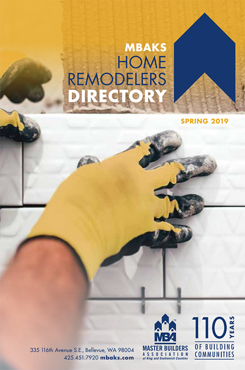 MBAKS Home Remodelers Directory, Spring 2019