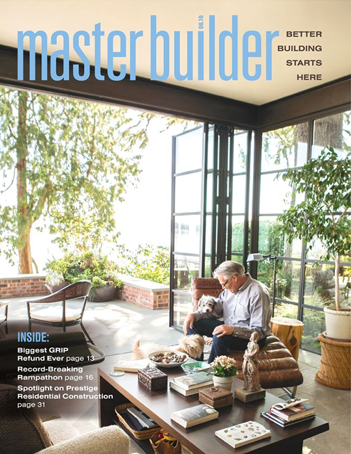 Master Builder Magazine, June 2016