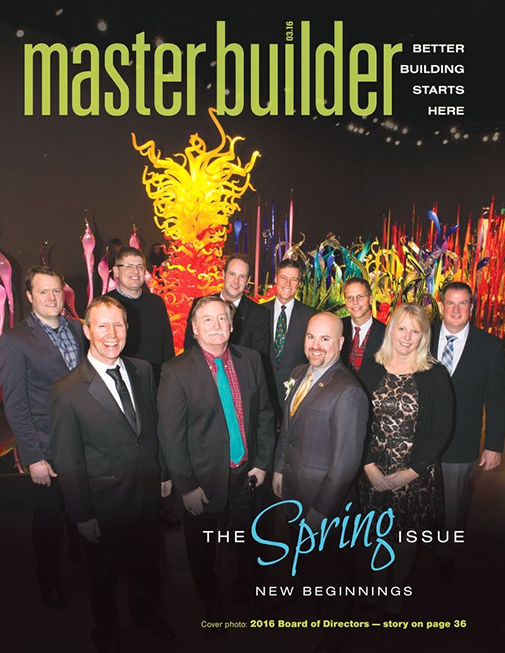 Master Builder Magazine, March 2016