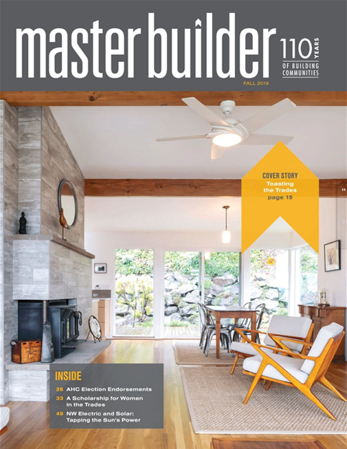 Master Builder Magazine, Fall 2019