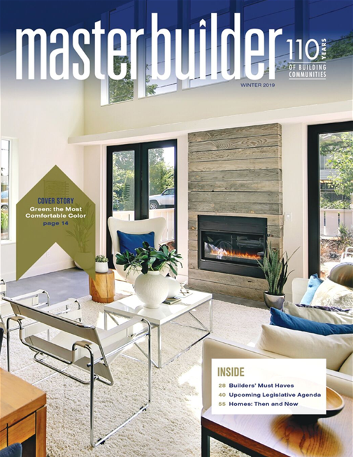 Master Builder Magazine, Winter 2019