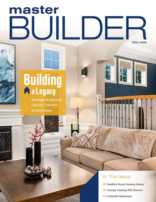Master Builder Magazine, Fall 2020