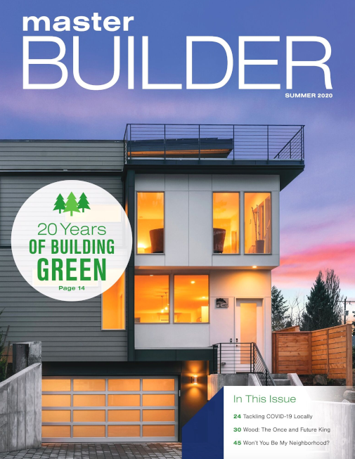 Master Builder Magazine, Summer 2020