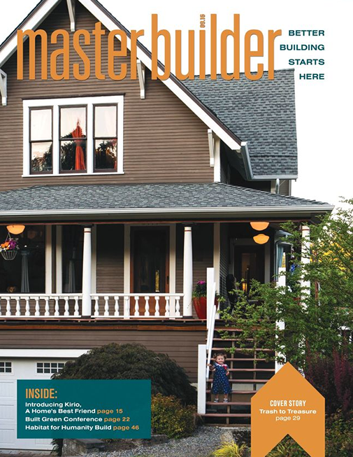Master Builder Magazine, September 2016