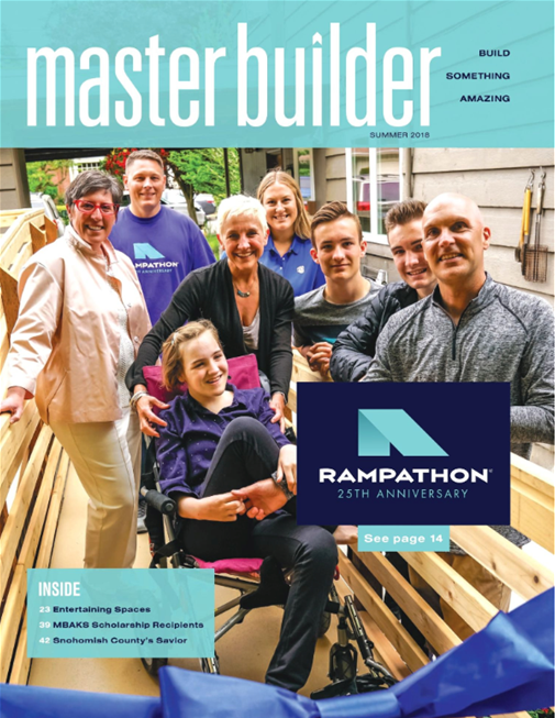 Master Builder Magazine, Summer 2018