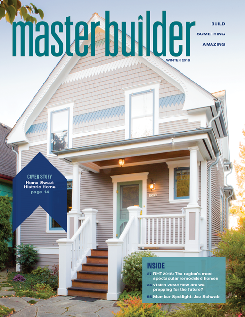 Master Builder Magazine, Winter 2018
